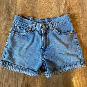 Vintage High-Waisted Levi Shorts